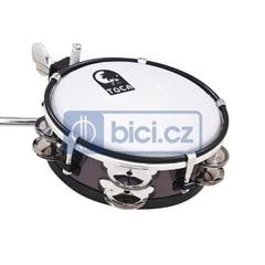 Toca Percussion TSKJ-6BK Jingle Sidekick, 6""
