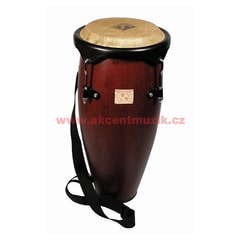 "Latin Percussion World Beat Caribe Conga 9"", Dark Wood"