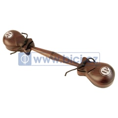 Latin Percussion Professional Castanets Double Set with Handle