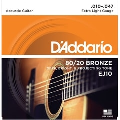 D'Addario EJ10 Extra Light