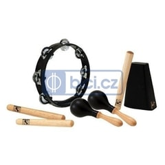 Latin Percussion WB940 World Beat 4-Piece Rhythm Essentials Kit