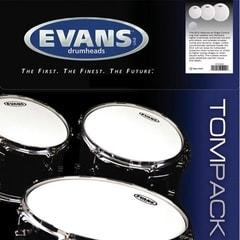 "Evans EC1 Tom Pack Frosted sada 10"" 12"" 16"" - výprodejový model"