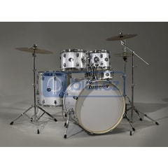 Ludwig LCF50P028 Element Pop White Sparkle