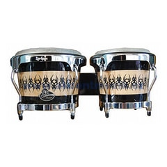 Latin Percussion Aspire Accent Series Wood Bongos, Scarab