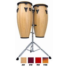 Latin Percussion LPA646-VSB Aspire Wood Conga Set