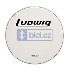 Ludwig LW7318B Bass Drum Head Coated Power Collar, 18""