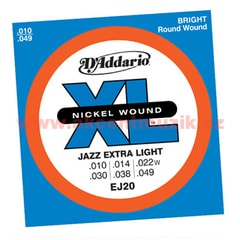 D'Addario EJ20 Jazz Extra Light