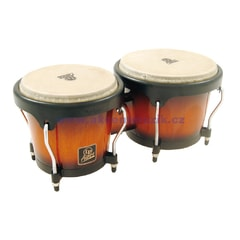 Latin Percussion Aspire Wood Bongos, Vintage Sunburst