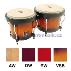 Latin Percussion Aspire Wood Bongos, Natural