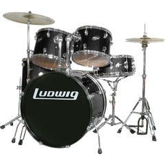 Ludwig LC1751 Accent Drive Black