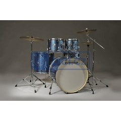 Ludwig LCF50P023 Element Pop Asure Blue Sparkle