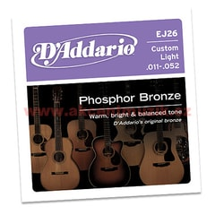 D'Addario EJ26 Custom Light