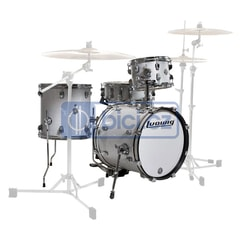 Ludwig LC179X028 Breakbeats by Questlove White Sparkle