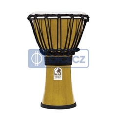 Toca Percussion TFCDJ-7MY ColorSound Djembe, 7""