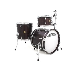 Gretsch Broadkaster Jazz set - Dark Satin Walnut