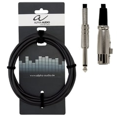 Alpha Audio Basic Line, 3 m, kabel pro mikrofon