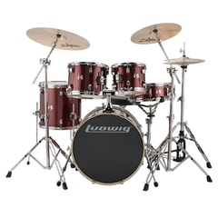 Ludwig LCEE20025 Evolution Red Sparkle