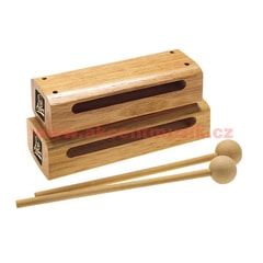 Latin Percussion Aspire Wood Block with Striker, Small