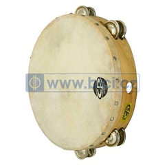 CP Tambourine with Head, 10""