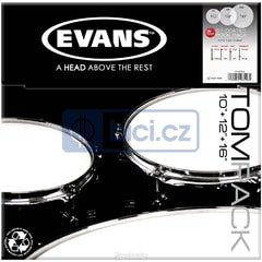 Evans ETP-G1CTD-R G1 Coated Rock Tom Pack