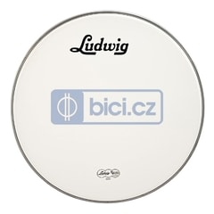 Ludwig LW4224V Bass Drum White Vintage Head, 24""