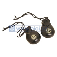 Latin Percussion Professional Castanets Hand Held, 2 páry