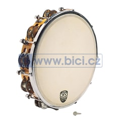 CP391 Tunable Tambourine, Wood, 10""