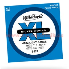 D'Addario EJ21 Jazz Light