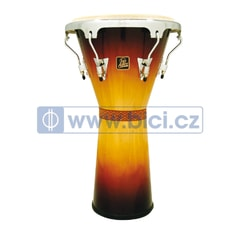 "Latin Percussion Aspire Tunable Djembe 12,5"", Vintage Sunburst"