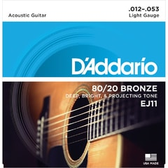 D'Addario EJ11 Light