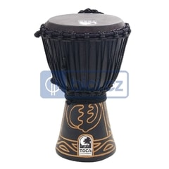 Toca Percussion ABMD-7 Black Mamba Djembe, 7""