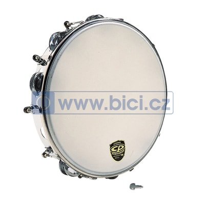CP Tunable Tambourine, Metal, 10""