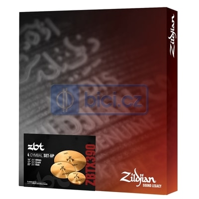 Zildjian ZBTX390 ZBT Box Set