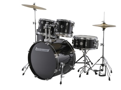 Ludwig LC1701 Accent Fuse Black