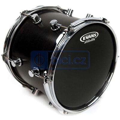"Evans TT12RBG 12"" Black Resonant"