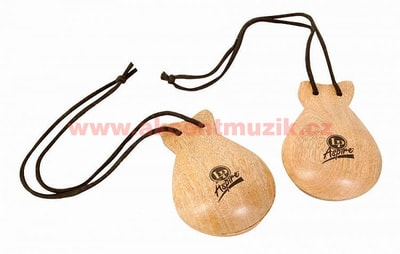 Latin Percussion Aspire Castanets Hand Held