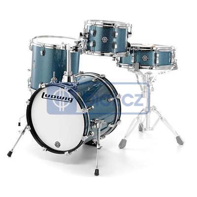 Ludwig LC179X023 Breakbeats by Questlove Azure Sparkle