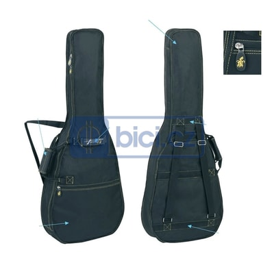GEWApure PS220.100 Guitar Gig Bag Turtle Series 100