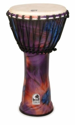 "Toca Percussion SFDJ-7WP 7"" Freestyle Djembe"