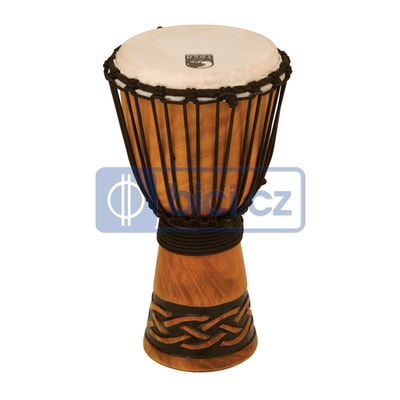 Toca Percussion TODJ-7CK Origins Wood Djembe, 7""