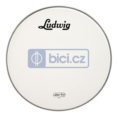 Ludwig LW4218V Bass Drum White Vintage Head, 18""