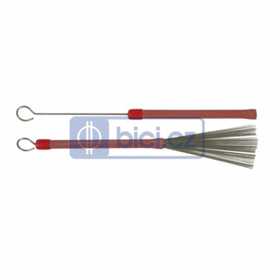 Ludwig L191 Red Grooved Handle Brushes