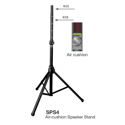 Studiomaster SPS4 Air Cushion Speaker Stand