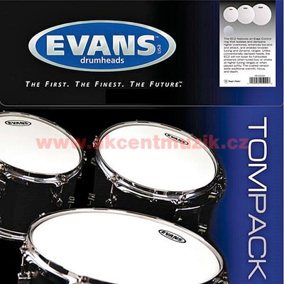 Evans ETP-EC2SCTD-R Tom Pack Rock
