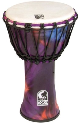 "Toca Percussion SFDJ-9WP 9"" Freestyle Djembe"