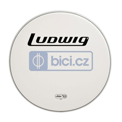 Ludwig LW7326 Bass Drum Head Coated Power Collar, 26""