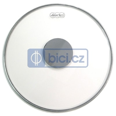 Ludwig LW6124 Bass Drum Head Heavy Silver Dot, 24""