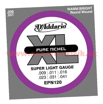 D'Addario EPN120 Super Light