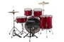 Ludwig LC1704 Accent Fuse Wine Red